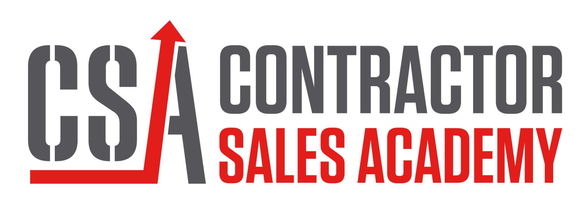 contractor sales training